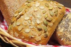 小圆面包,蛋糕,小圆面包的各种各样的类型 免版税图库摄影