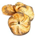小圆面包 免版税库存图片