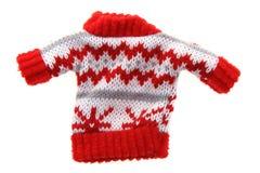 小圣诞节套头衫 库存图片