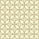 小在上色的元素设计无缝的背景样式例证 向量例证