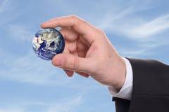 小地球的现有量 库存照片