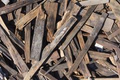 小块木头 图库摄影