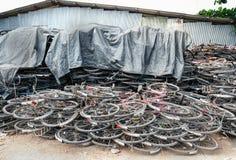小块自行车 库存图片