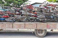 小块自行车 免版税库存图片