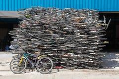 小块自行车 库存照片