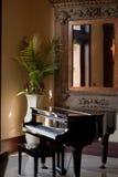 小型三角钢琴 免版税图库摄影