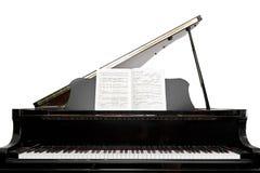小型三角钢琴 库存图片