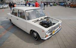 小型客车VAZ 2111 免版税库存图片