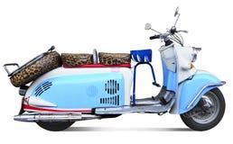 小型摩托车葡萄酒 库存照片