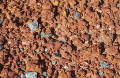 小型石头 库存照片