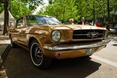 小型车Ford Mustang第一代 库存照片