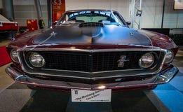小型车Ford Mustang马赫1 Sportsroof, 1969年 库存图片