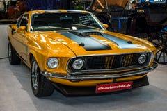 小型车Ford Mustang, 1969年 免版税库存图片