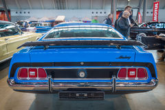小型车Ford Mustang Fastback, 1972年 免版税库存照片