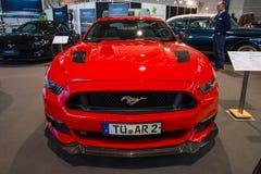 小型车Ford Mustang GT AM1 Fastback小轿车, 2016年 库存照片