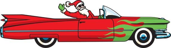 小型运车圣诞节 图库摄影