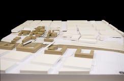 小城市再生, 3D模型 免版税库存照片