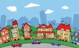 小城市 免版税库存照片