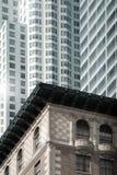 小大厦的前景 免版税库存照片