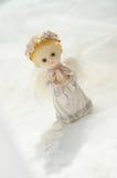 小天使的形象 免版税库存图片