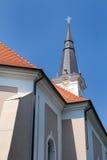 小天主教的教会 库存图片