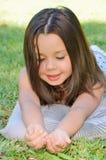 小女孩 图库摄影