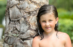 小女孩 免版税图库摄影