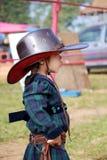 小女牛仔 免版税图库摄影