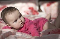 小女婴的纵向 图库摄影
