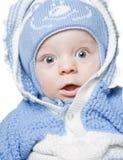 小婴孩美丽的男孩 免版税库存图片