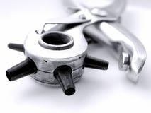 小孔工具 免版税库存照片
