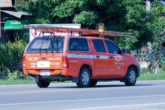 小孩公司微型卡车  图库摄影