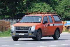 小孩公司微型卡车  免版税库存照片