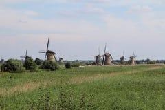 小孩堤防,荷兰 免版税图库摄影