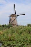 小孩堤防,荷兰 免版税库存图片
