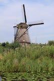 小孩堤防,荷兰 库存照片