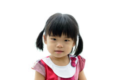 小孩女孩 免版税库存照片