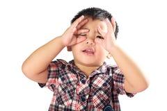 小孩男孩 免版税库存照片