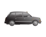 小室伦敦出租汽车向量 免版税图库摄影