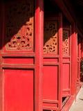 小室河内ngoc儿子寺庙越南 库存照片
