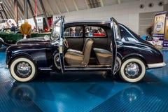 小家用汽车蓝旗亚阿皮亚Berlina,第一个系列, 1954年 库存图片