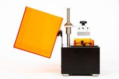 小家3D打印机 免版税库存照片