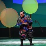 """小将军niutong孩子的北京Opera""""Yue teenager† 免版税库存图片"""