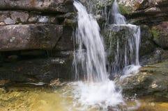 小小河小河和迷离瀑布 库存图片