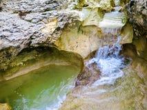 小小瀑布2 库存图片