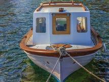 小小船的捕鱼 免版税图库摄影