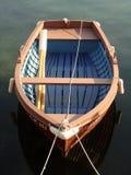 小小船的捕鱼 图库摄影