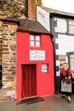小屋在大英国 免版税库存图片