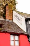 小屋在大英国 库存图片