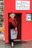 小屋在大英国 图库摄影